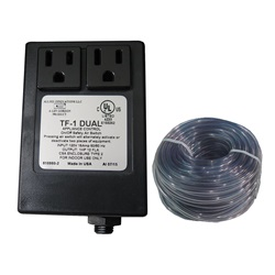 Controls / Equipment Packs   Garbage Disposal ControlsCONTROL: TF-1 DUAL 120V 1.0HP PACKAGE WITHOUT BUTTON
