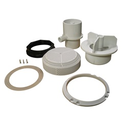"""Skimmers / Suctions / Drains   Suction Assemblies / PartsSUCTION ASSEMBLY: VGB 256GPM 2"""" WHITE"""