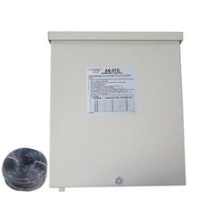 Controls / Equipment Packs | In-Ground Spa ControlsCONTROL: AS-5TD-30MM, WITHOUT BUTTON, 240V, 50/60HZ, 50AMP