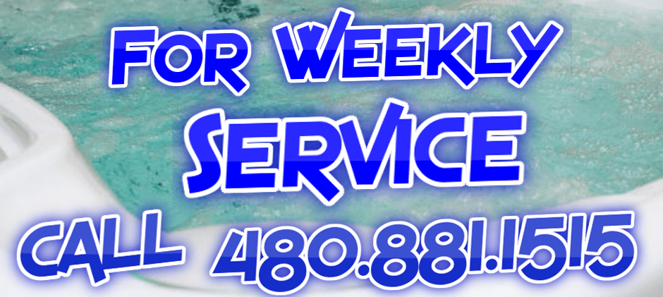 Weekly Hot Tub Service